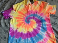 New tie-dyed polos