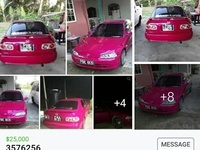 Honda Civic, 1999, PBE
