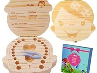Baby tooth fairy keepsake box