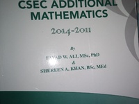 Solutions to CSEC Add Maths p1 2014- 2011