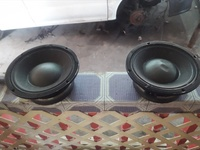 Pair of B and C 10 inch speakers