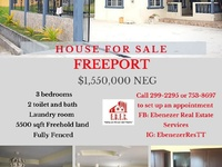 Move in Ready Freeport 3 Bedroom Property