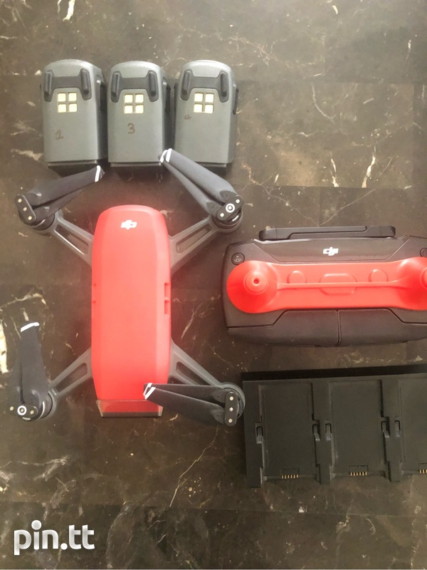 Dji Spark Fly More Combo Plus Accessories-3