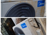 Servicing of air conditioning units