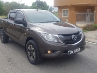 Mazda BT-50 Pickup, 2016, TDM