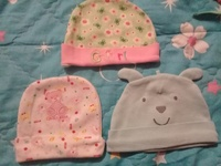 BABY HATS AND DINSEY MINNIE SUIT PANTS AND TOP