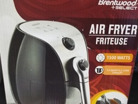 Brentwood 1500w Air fryer - new