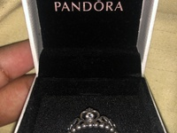 Pandora My Princess Ring Silver