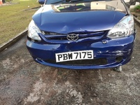 Damaged Toyota Yaris