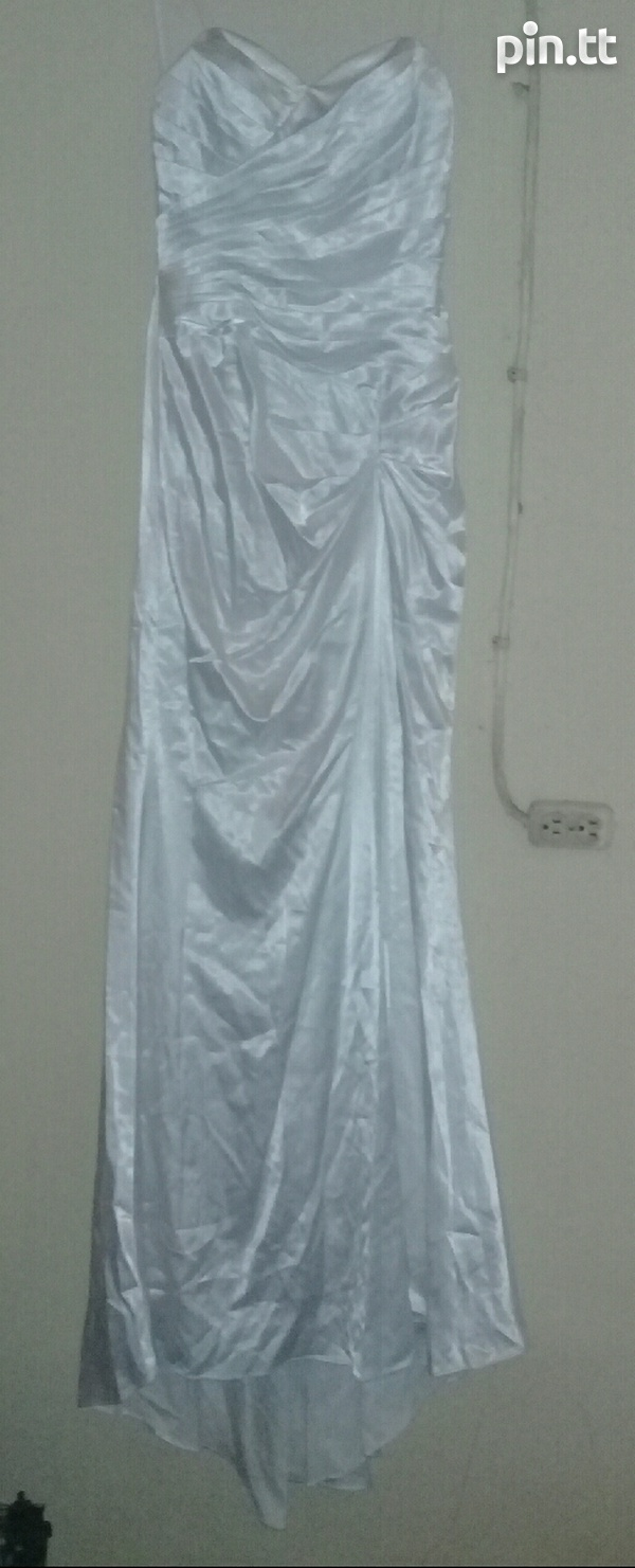 Used Dresses with Veil n Gloves-1