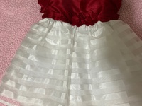 Cute Red And White and Red 18Month Dress