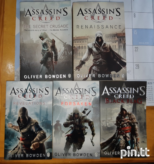 Assassin's Creed books by Oliver Bowden-2