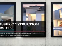 House Construction From Design to Construction