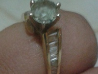 Diamond One of Kind RING