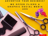 Fliers and Social Media Graphic Ads