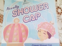 Crown / Narwhale / Unicorn Kids shower cap