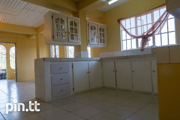 Upper Quarry St Diego Martin 2 bedroom downstairs unfurnished apt-3