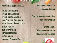 Healthy Pesticide Free Weekly Delivery