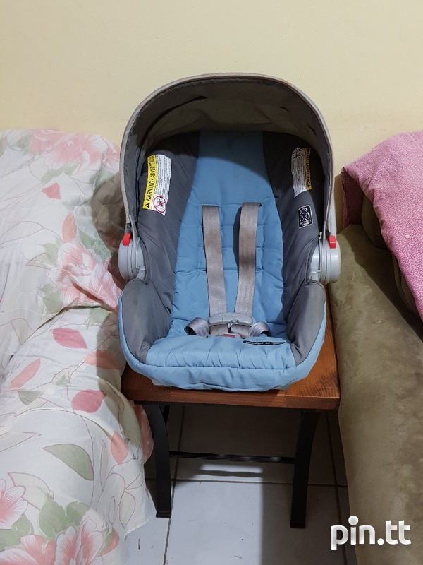 Used Graco Car Seat and Stroller-3