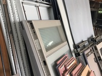 Office Partitions and fireproof book vaults