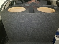 Double 12 subwoofer box
