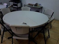 Table plus 6 Chairs Set