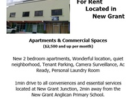 Commercial Spaces Available
