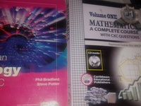 Textbooks biology and mathematics