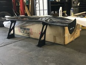 69inch NRG Real Carbon Fiber Wing