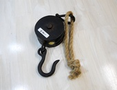 Vintage Hook and Pulley