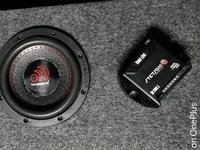 Car Audio Subwoffer And Amp