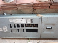 2 electrical panel boxes 1 new 1 used