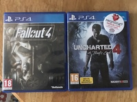 Uncharted 4 and Fall Out 4