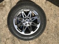 6 Hole 18 inch Rims andTyres