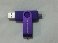 Double Sided USB/Micro USB Flash Drive, 128Gb, Brand New