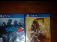 Mortal kombat 11 and Need for speed