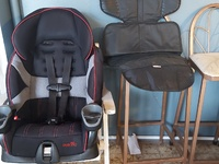 Car seat and seat protector