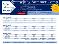 Key Summer Camp TT