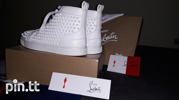 Christian Louboutin Paris Red Bottoms Mens Size 10-4