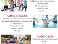 Weight loss and exercise classes