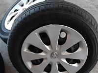 Toyota steel rims and tyres