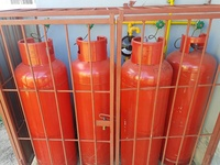 Commercial regulator 100lb gas tanks