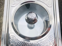 Fast Food Stainless Steel Dish