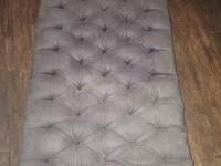 Upholstered Center table/foot stool...