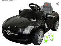 Mercedes Benz SLS Kids Ride On Car RC Battery T newly new.