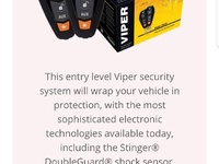 Viper alarms supply and installation