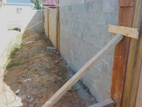 Wall and post construction
