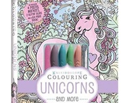 Unicorn Colouring Book Set