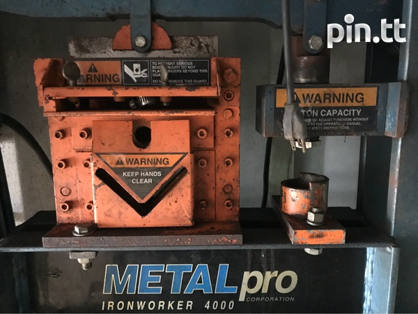 Metal pro punch and shear iron worker-2