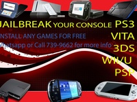 Jailbreak your PS3/VITA/3DS/WII console for free games